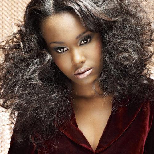 makeup for beauty editorial - woman in velvet dress