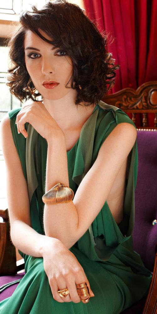 makeup for fashion shoot - elegant woman