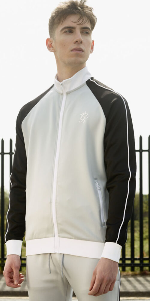Male styling - model in tracksuit